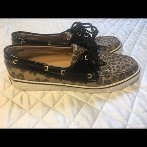 Sperry Top Sider Leopard Print